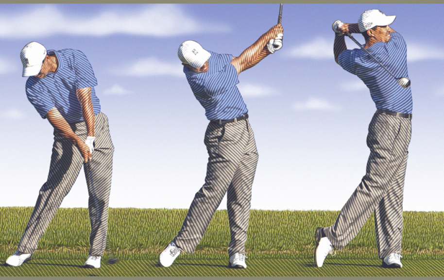 Tiger Woods Golf Swing
