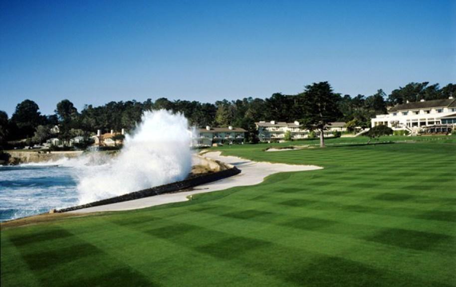 Pebble Beach Golf Links 18th Hole