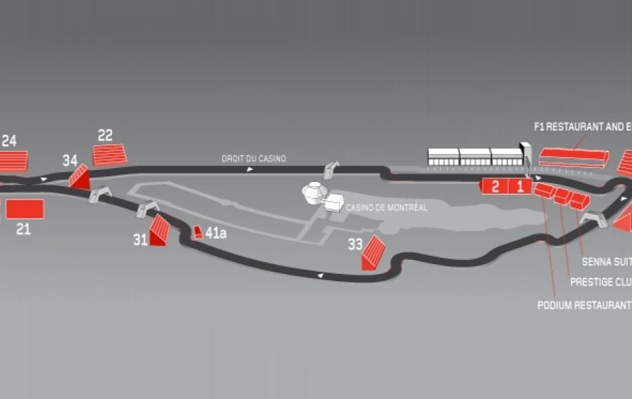 Gilles Villeneuve Circuit Montreal
